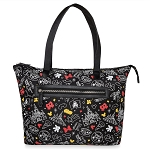 Disney Tote Bag - Mickey and Minnie Mouse Parks - Black