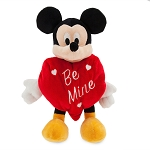 Disney Plush - Valentine's Day - Mickey Mouse - Be Mine