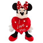 Disney Plush - Valentine's Day - Minnie Mouse - I Love You