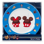 Disney Plate Set - Disney Treats - Set of 4 - Plastic