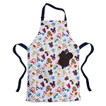 Disney Apron - Disney Treats - Park Food Icons
