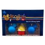 Disney String Lights Set - Disney Treats - Park Food Icons
