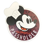 Disney Magnet - Chef Mickey - Walt Disney World - Passholder