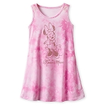 Disney Dress for Girls - Minnie Mouse Tie-Dye - Pink