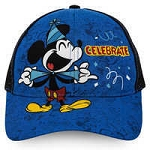 Disney Hat - Baseball Cap - Mickey Mouse Celebrate - Youth