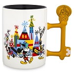 Disney Coffee Mug - Mickey Mouse - Let's Celebrate