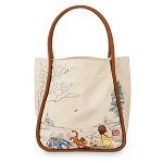 Disney Tote Bag - Winnie the Pooh and Friend - Canvas