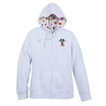 Disney Zip Hoodie for Women - Mickey Mouse - Let's Celebrate
