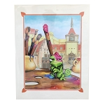 Disney Doug Bolly Art Print - A Brush with Greatness - Pascal