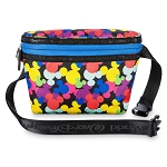 Disney Hip Pack Bag - Colorful Mickey Mouse Icons
