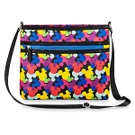 Disney Crossbody Bag - Colorful Mickey Mouse Icons