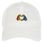 Disney Hat - Baseball Cap - Mickey Mouse Rainbow Heart