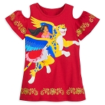 Disney Shirt for Girls - Elena and Skylar - Elena of Avalor - Red