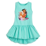 Disney Tank Top for Girls - Moana and Pua Skirted