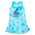 Disney Dress for Girls - Moana - The Ocean is Calling Me - Tie-Dye