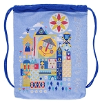 Disney Drawstring Backpack Bag - It's a Small World