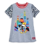 Disney Shirt for Girls - Mickey Mouse Celebration - Sequin