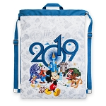 Disney Cinch Sack Bag - 2019 Mickey and Friends - Walt Disney World