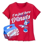 Disney Shirt for Girls - Minnie Mouse Donuts - Red