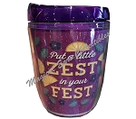 Disney Tumbler - 2019 Flower and Garden - Violet Lemonade