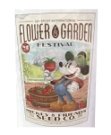 Disney Poster - 2019 Flower and Garden Festival - Mickey's Seed Co