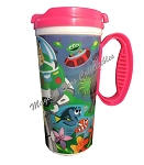 Disney Resort Travel Mug - PIXAR - Toy Story Cars And More - Pink