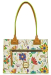 Disney Dooney & Bourke Tote - Tinker Bell - Flowers