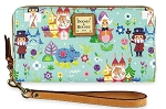 Disney Dooney & Bourke Wallet - It's a Small World - Blue