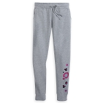 Disney Joggers for Women - Minnie Icons and Dots - Gray