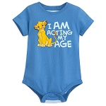 Disney Bodysuit for Baby - Simba - I am Acting my Age