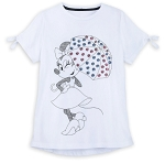 Disney T-Shirt for Women - Minnie Mouse Sequined Umbrella