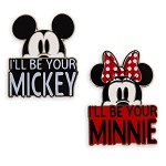 Disney Pin Set - I'll Be Your Mickey, I'll Be Your Minnie