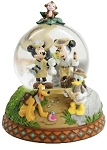 Disney Snow Globe - Mickey Mouse and Friends - Adventure Isle