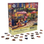 Disney Jigsaw Puzzle - Mickey and Minnie Sweetheart Cafe