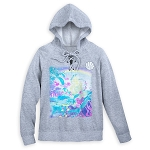 Disney Pullover Hoodie for Women - Ariel Lace-Up - Little Mermaid