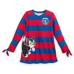 Disney Long Sleeve Shirt for Women - Figaro and Cleo - Pinocchio