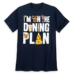 Disney Shirt for Men - Disney Parks Dining Plan - Blue