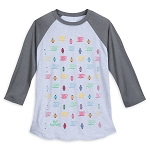 Disney Shirt for Men - Mad Tea Party Icons - Raglan
