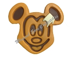 Disney Magnet - Mickey Mouse Waffle with Butter - Large