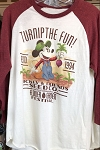 Disney Adult Shirt - Flower and Garden 2019 - Mickey Seed Co. - Raglan