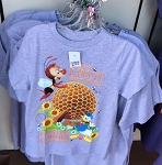 Disney Shirt for Child - 2019 Flower and Garden - Donald and Spike