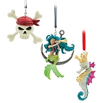 Disney Christmas Ornament Set - Pirates of the Caribbean Icon