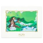 Disney Story Book Deluxe Art Print - Alice in Wonderland