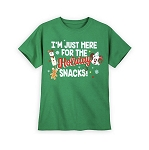 Disney T-Shirt for Kids - I'm Just Here for the Holiday Snacks
