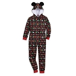 Disney Pajamas Bodysuit for Boys - Mickey Holiday Park Foods