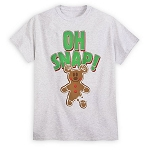 Disney Holiday Shirt for Men - Oh Snap - Gingerbread Cookie