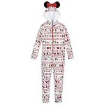 Disney Pajamas Bodysuit for Women - Minnie Holiday Park Foods