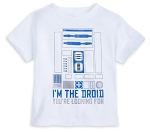 Disney T-Shirt for Toddlers - R2-D2 - I'm the Droid