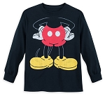 Disney Long Sleeve Shirt for Kids - I Am Mickey Mouse - Black
