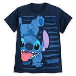 Disney T-Shirt for Boys - Stitch - Space Alien - Blue